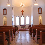 Chapel of the Holy Family interior picture